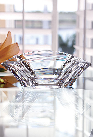 Baccarat Crystal, Gingko Crystal Bowl