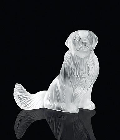 Lalique Golden Retriever Dog Figure