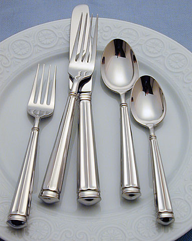 Waterford Grafton Street Flatware, 5-Piece Place Setting
