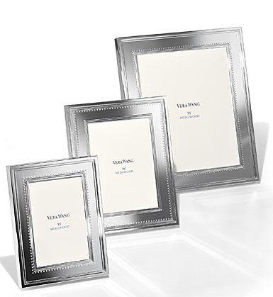 "Vera Wang Wedgwood Grosgrain 5""x7"" Picture Frame"