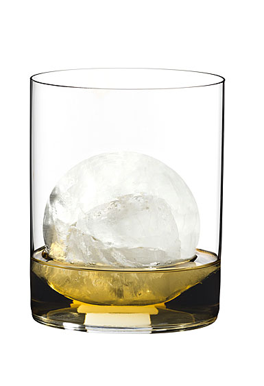 Riedel O Stemless, Classic Bar Whiskey Crystal Glasses, Pair