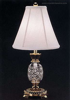 """Waterford Hospitality Mini Lamp and Shade, 20"""""""