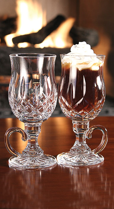 Waterford Crystal, Lismore Irish Coffee, Pair