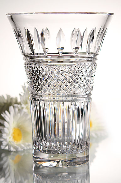 Waterford Irish Lace Flared 6in Vase