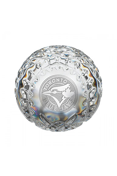 Waterford Toronto Blue Jays Crystal Baseball