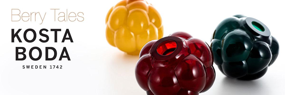 Kosta Boda Berry Tales