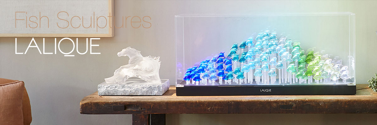 Lalique Fish Collection