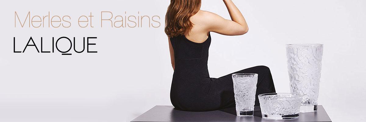Lalique Merles et Raisins