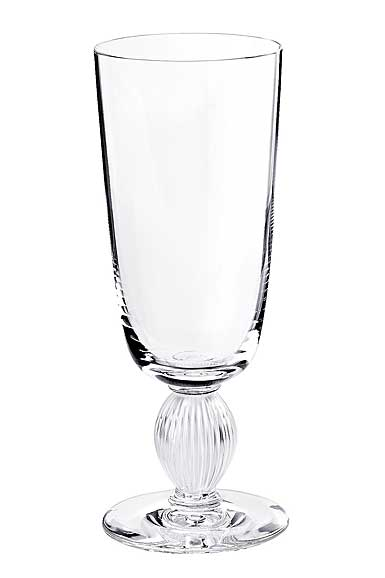 Lalique Crystal, Langeais Champagne Crystal Flute, Single