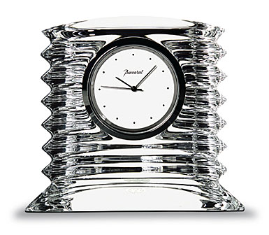 Baccarat Crystal, Lalande Small Crystal Clock