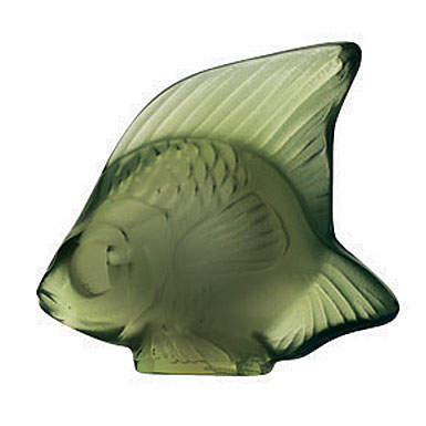Lalique Antinea Green Fish, #12
