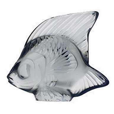 Lalique Grey Fish, #14