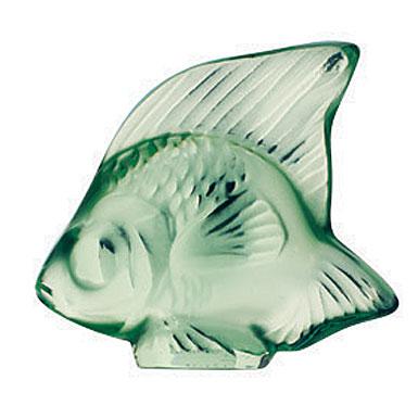 Lalique Light Green Fish, #11