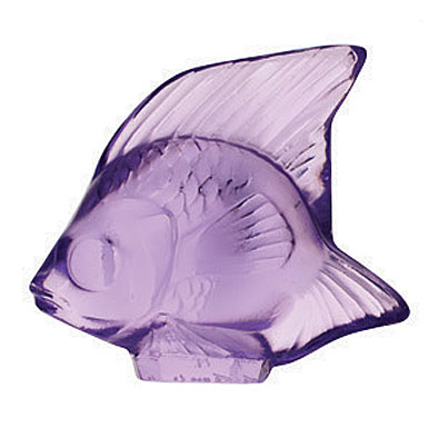Lalique Light Purple Fish, #26