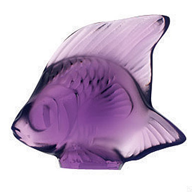 Lalique Purple Fish, #6