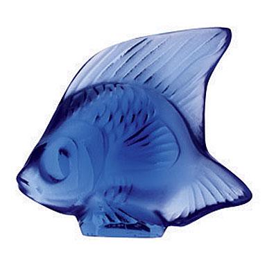 Lalique Sapphire Fish, #4