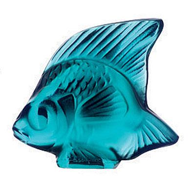 Lalique Turquoise Fish, #5