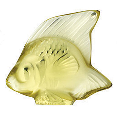 Lalique Yellow Fish, #22
