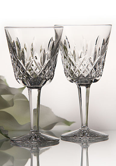 claret red wine glass pair waterford crystal lismore essence white glasses john rocha set of 6