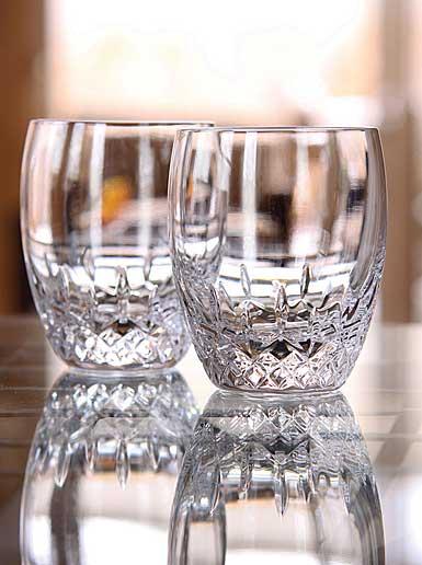 Waterford Crystal, Lismore Essence DOF Crystal Tumblers, Pair