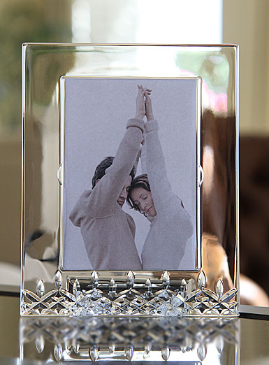 "Waterford Crystal, Lismore Essence 5x7"" Picture Frame"