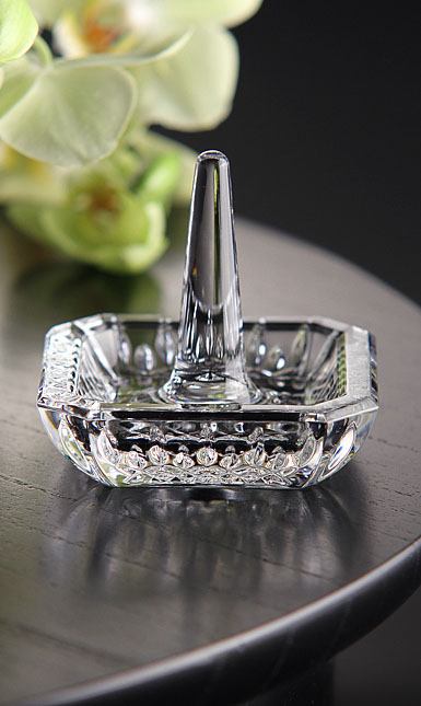 Waterford Lismore Square Ring Holder