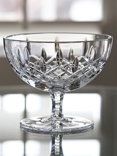 "Waterford Crystal Lismore Footed Sweets 5"" Bowl"