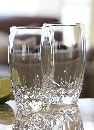 Waterford Crystal, Lismore Essence Crystal Hiball Tumbler, Pair