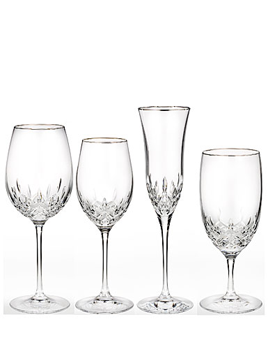 Waterford Lismore Essence Platinum Goblet/Red Wine
