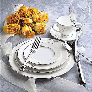 Waterford China Lisette, 5 Piece Place Setting