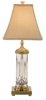 """Waterford Crystal, Lismore 22"""" Crystal Lamp"""