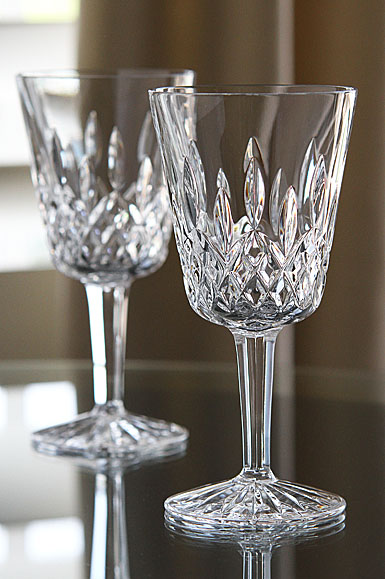 Waterford Lismore Goblet, Pair