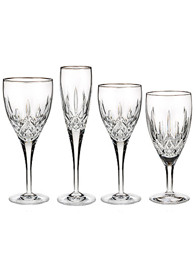Waterford Lismore Nouveau Platinum Goblet