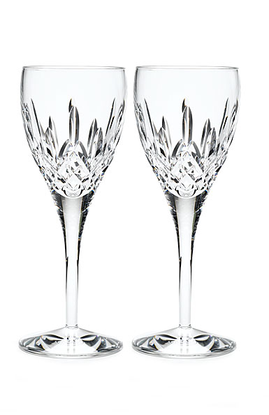 Waterford Lismore Nouveau Goblet, Pair