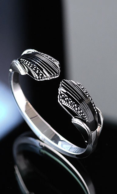 Lalique Icone Bracelet, Noir