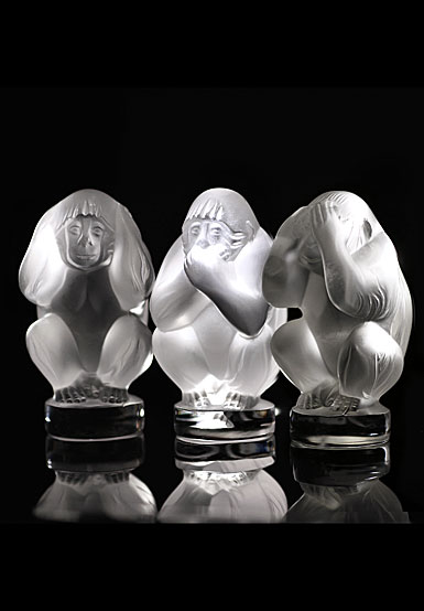 Lalique Wisdom Box Set, Clear