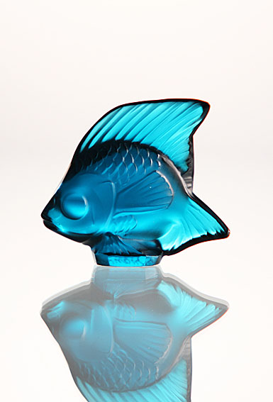 Lalique Light Blue Fish, #3