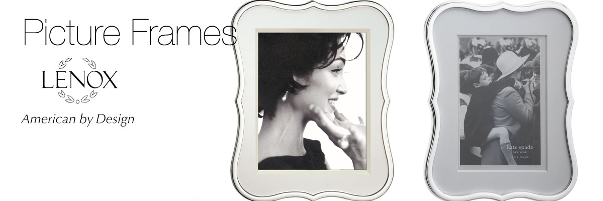 Lenox Picture Frame Collection | Crystal Classics