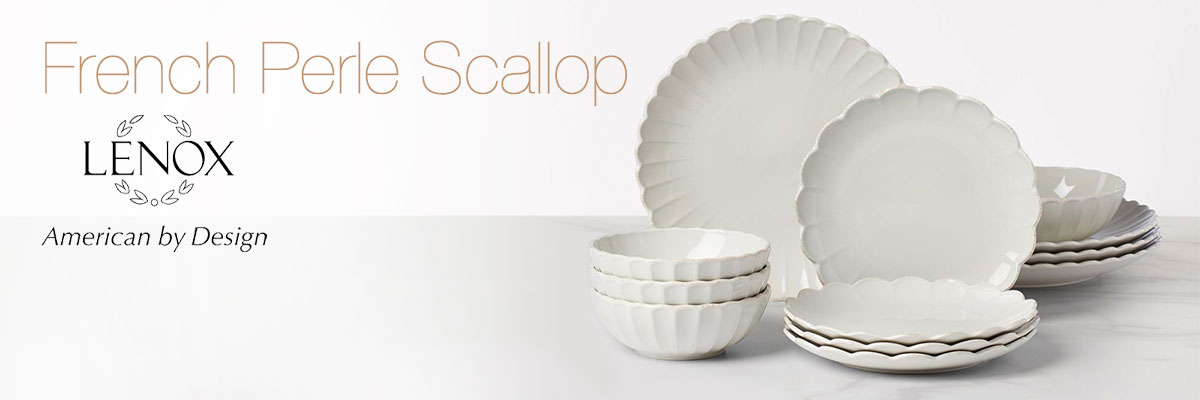 Lenox French Perle Scallop