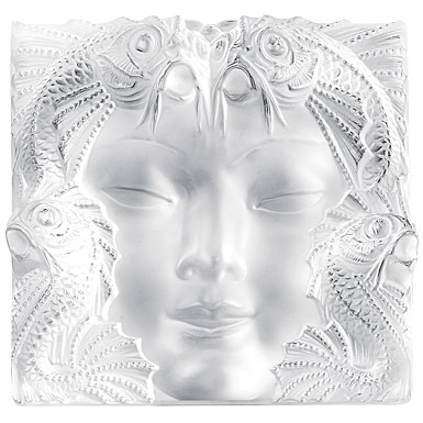 Lalique Woman Mask on Stand