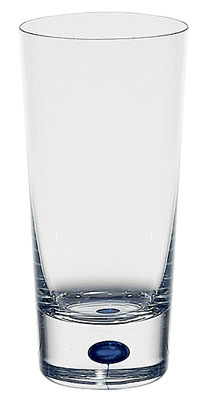 Orrefors Crystal, Intermezzo Blue Tumbler, Single
