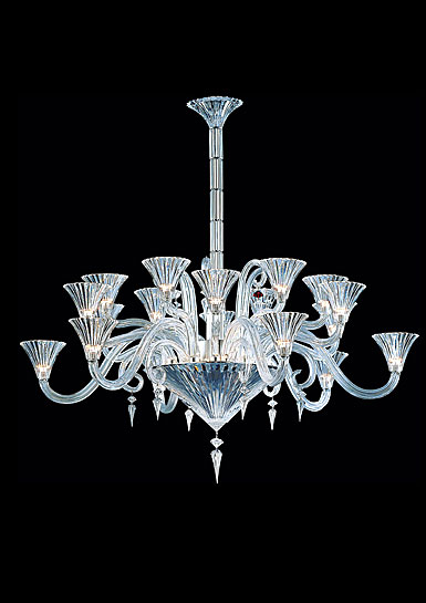 Baccarat Crystal, Mille Nuits 18 Light Crystal Chandelier