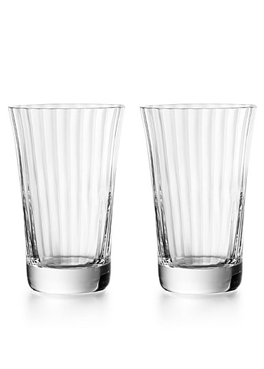 Baccarat Crystal, Mille Nuits Crystal Highball, Boxed Pair