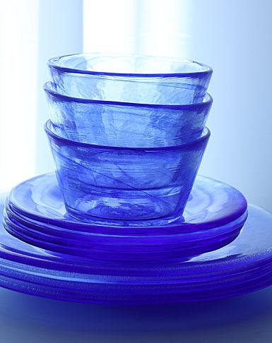 Kosta Boda Mine Bowl, Blue