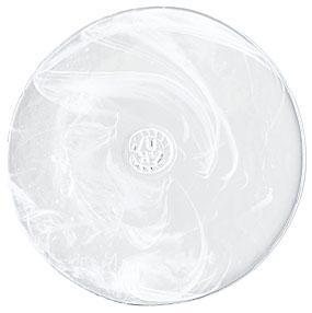 Kosta Boda Mine Small Plate, White