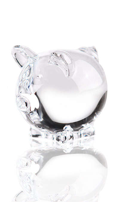 Baccarat Crystal, Minimals Clear Pig