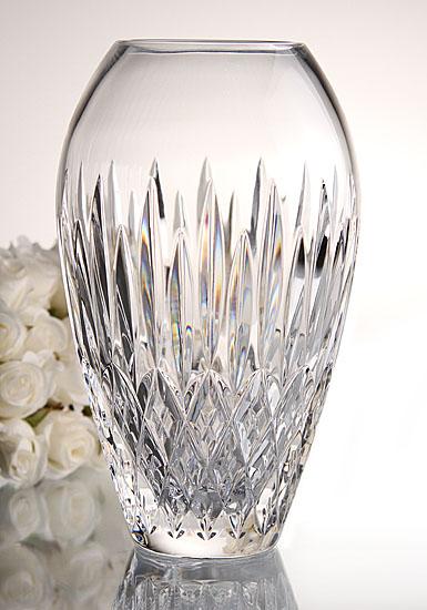 Monique Lhuillier Waterford Arianne 9in vase