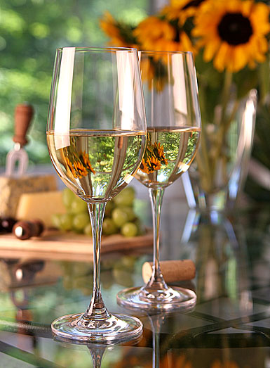 Robert Mondavi by Waterford Sauvignon Blanc Glasses, Pair