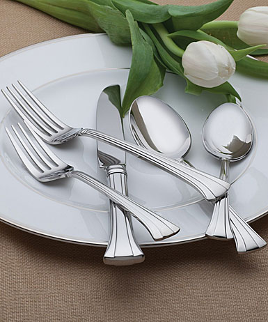 Waterford Mont Clare Flatware, 65-Piece Set