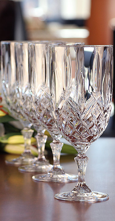 Marquis by Waterford Crystal Markham Crystal Iced Beverage, Set of Four